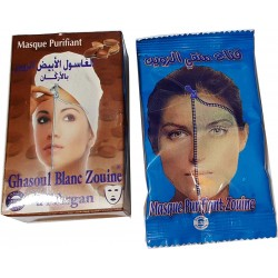 Witte Ghassoul met Argan