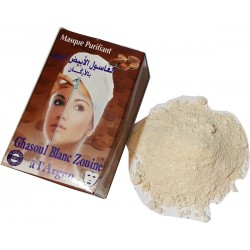White Ghassoul Mask (Zouine) with Argan Oil
