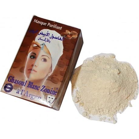 Ghassoul Blanc avec l'Argan