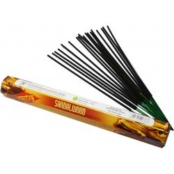 The smell of wood incense