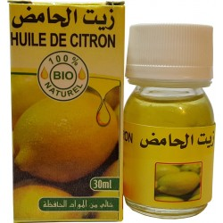 Organiczne cytrynowy 30 ml oleju