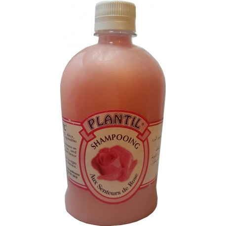 Schampooing plantil to the scents of Rose 500 ml