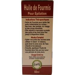 olio di formica per depilazione