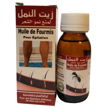 ant oil for hair removal
