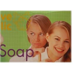 Мыло с чесноком эффективным для акне