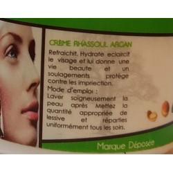 La crema de Ghassoul de argán