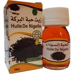 Óleo de nigelle orgânicos 30 ml