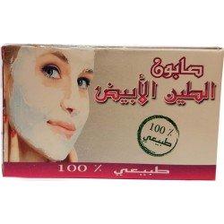 Beyaz Ghassoul sabun