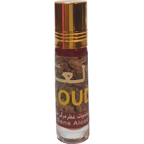 Parfum Oud sans alcool 8ml