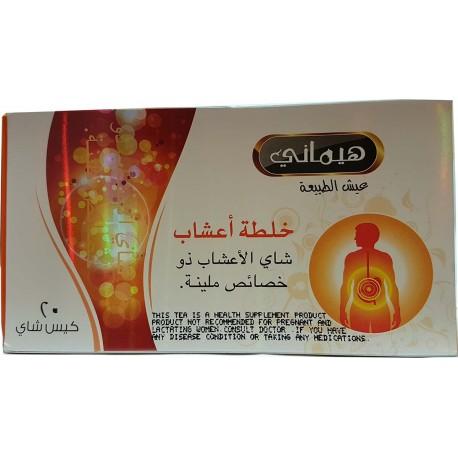 Chá de ervas para úlcera no estômago