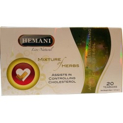 Tisane Cholestérol Bio - 20 sachets - Hemani
