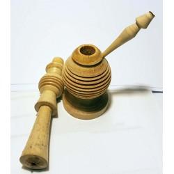 Kohl-Apllikator aus Holz