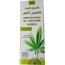 Shampoo mit indischem Hanföl und Keratin