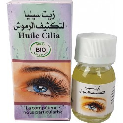 Oil cilia to grow eyelashes