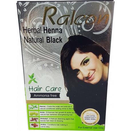 Schwarze Henna für Haare Rolcan