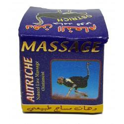 Massage cream - ostrich