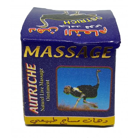 Crème de massage - Autruche