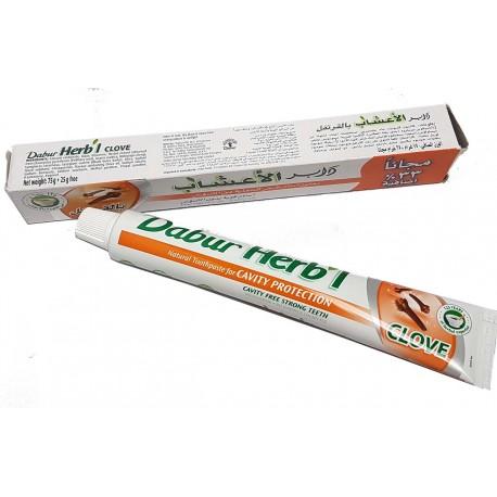 Dentifrice Dabur avec des plantes Halal Girofle