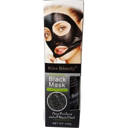 Black Acne mask and black face point