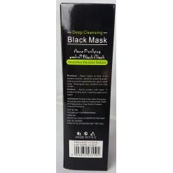 Schwarzen Akne und schwarze Gesichtsmaske