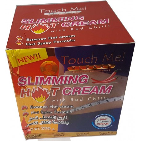 Hot slimming cream
