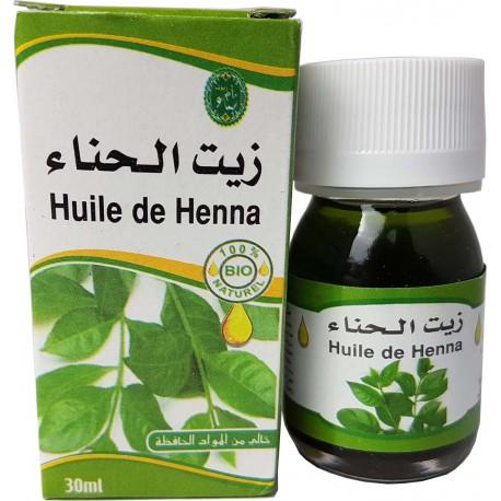 Huile de henné