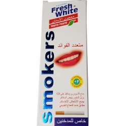 Creme dental fresco do Aqua para fumadores