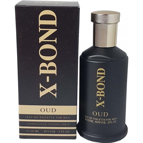 Parfum X-Bond Oud hommes