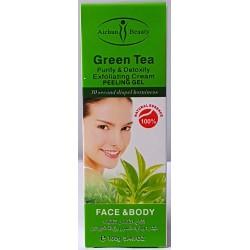 Té verde exfoliante crean peeling gel