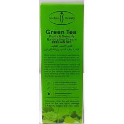 Grünem Tee-Peeling-Gel