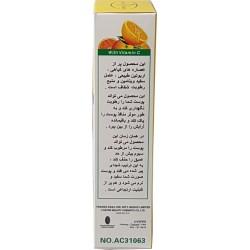 Vitamin-C-Behandlung und Weißcreme