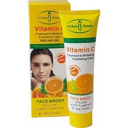 Crème de traitement et de blanchiment vitamine C