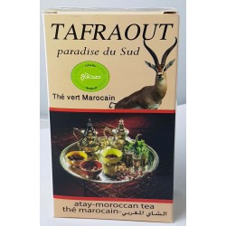 Organic Green Tea with plants Tafraouat
