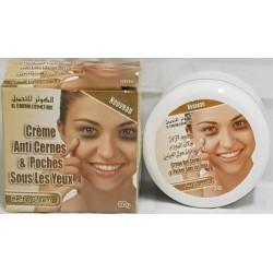 Anti-donkere kringen crème en tassen onder de ogen