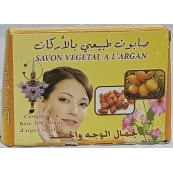 Savon à l'Argan naturel