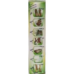 Lotion pour soin des peids a l Aloe Verra