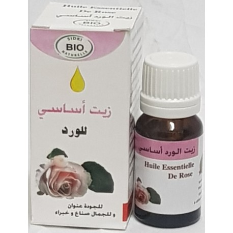 Aceite esencial de rosa 10ml