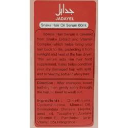 Soro de óleo de cobra Jadayel