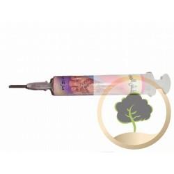 Spritze aus Kunststoff  für Henna-Tattoos