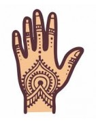 Meilleur henné pour les pieds et les cheveux main