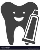 سواك ومعجون الأسنان العناية بالأسنان