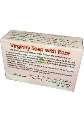 Fleur's Hemani Virginity Soap with Rose
